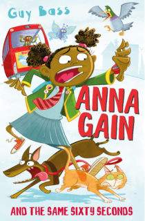 Cover Image: Anna Gain and the Same Sixty Seconds by Guy Bass