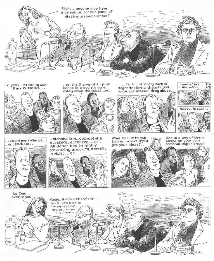 Kevin Brooks Cartoon
