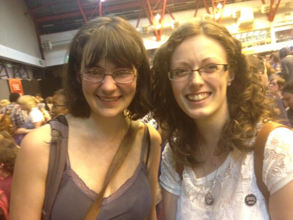 Kirstin and Sally Nicholls