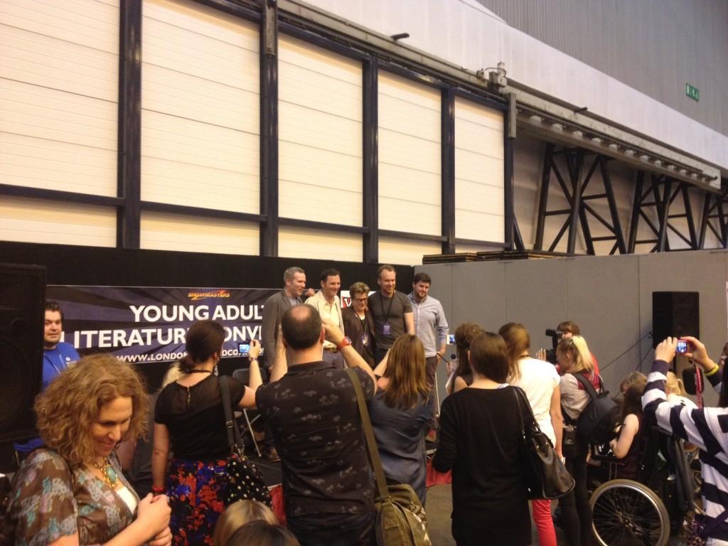 'Crossover' event with Nick Lake, Meg Rosoff, Tony McGowan and Matt Haig (chaired by David Maybury)