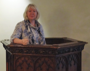Pulpits and Anna McQuinn go rather well together.