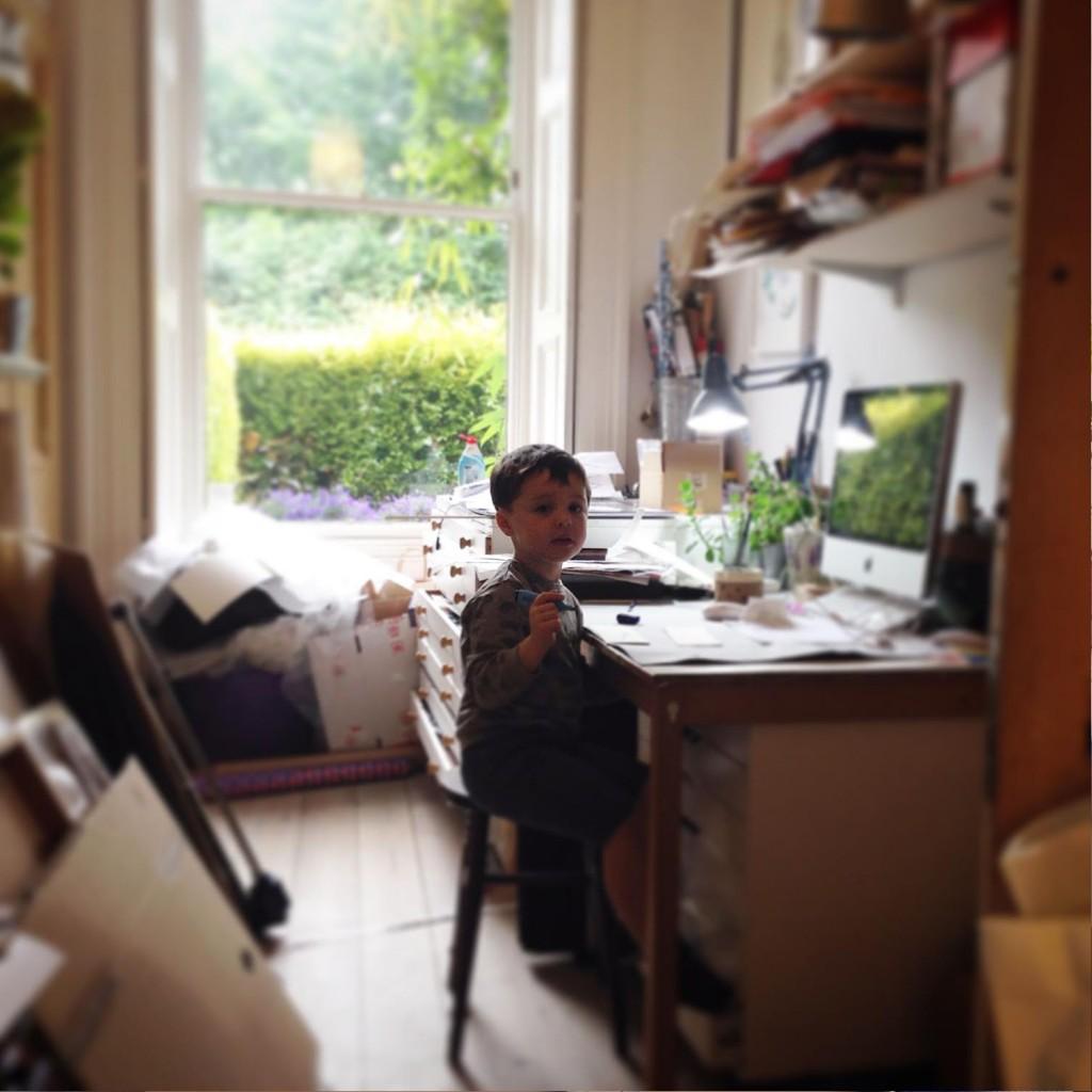 Catherine Rayner's studio assistant