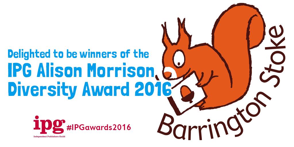 Alison Morrison Diversity Award 2016
