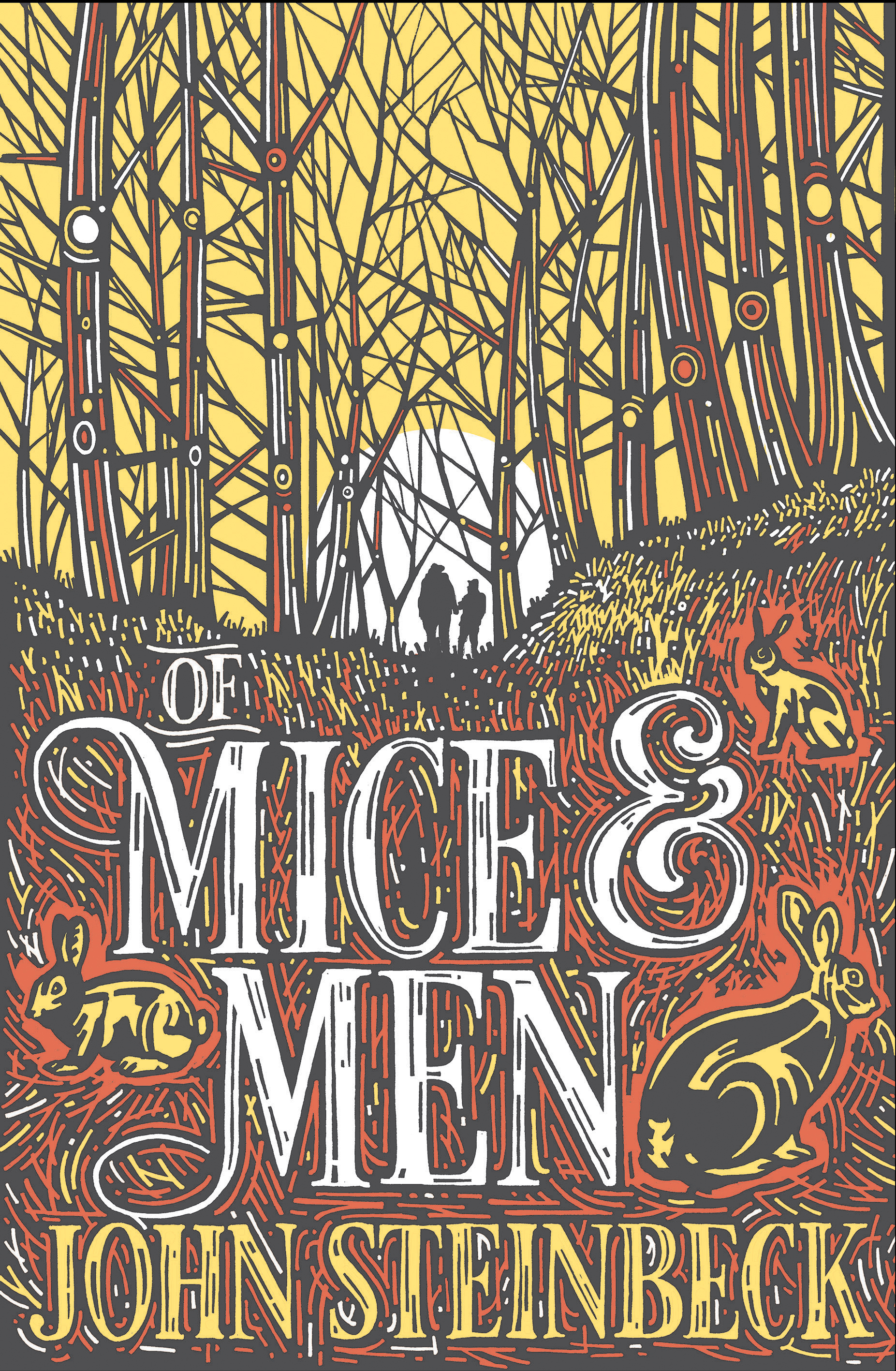of mice and men by steinbeck Buy a cheap copy of of mice and men book by john steinbeck they are an unlikely pair: george is small and quick and dark of face lennie, a man of tremendous size, has the mind of a young child.