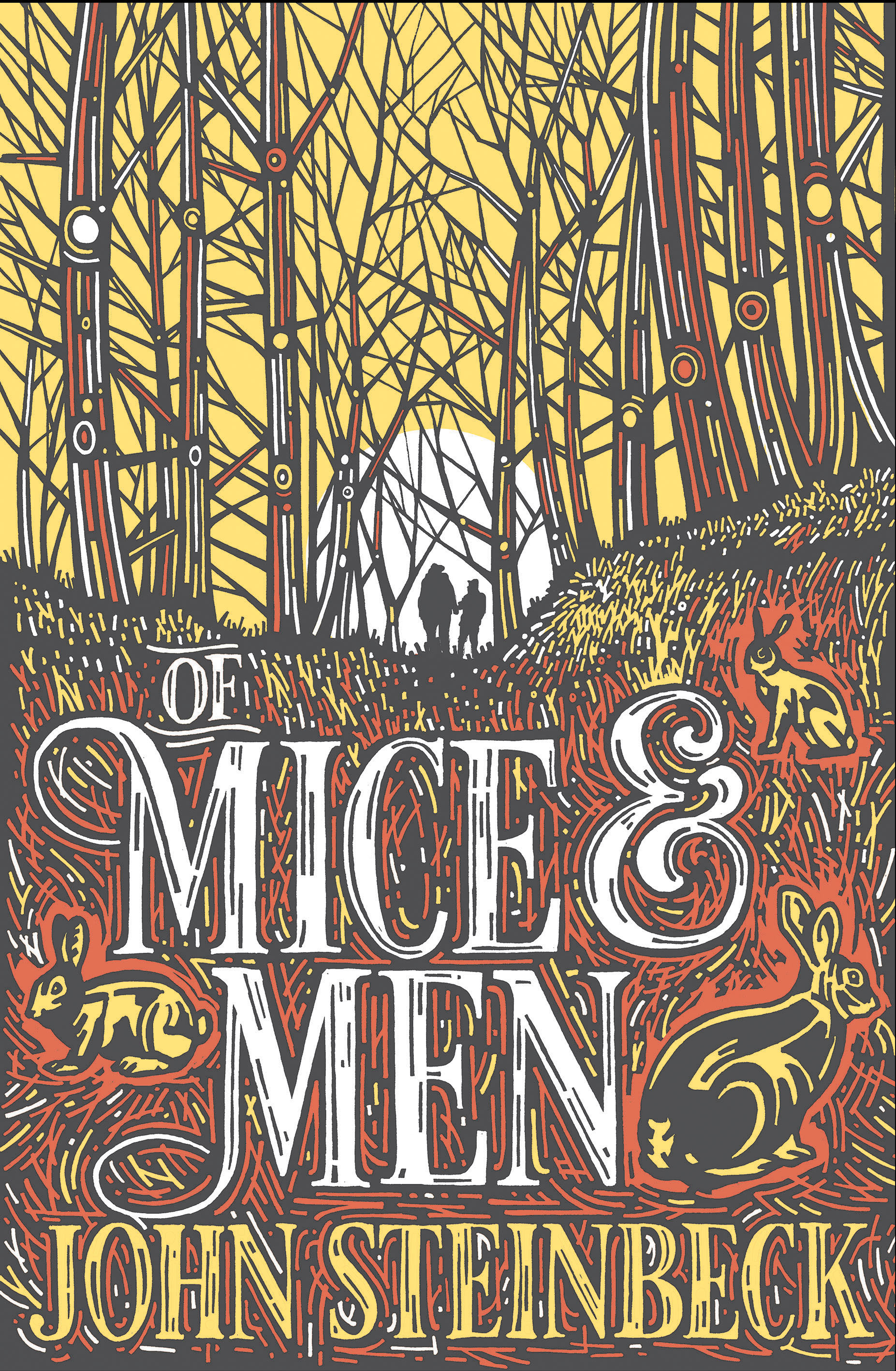 Dyslexia-friendly edition of Of Mice and Men by John Steinbeck