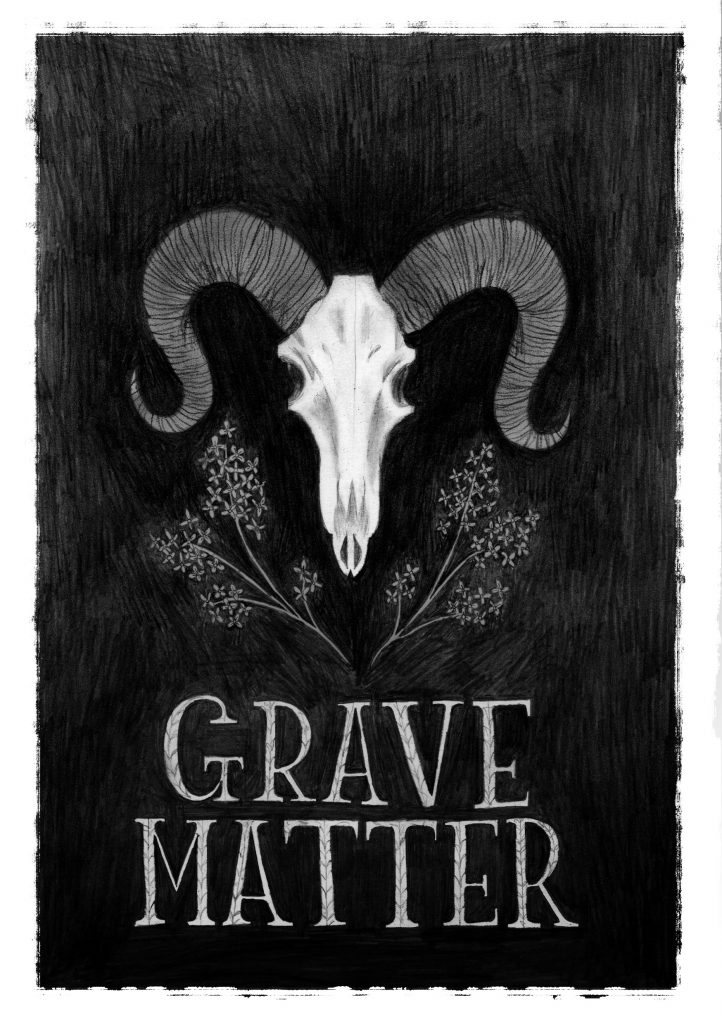 Grave Matter by Juno Dawson, illustrated by Alex T. Smith