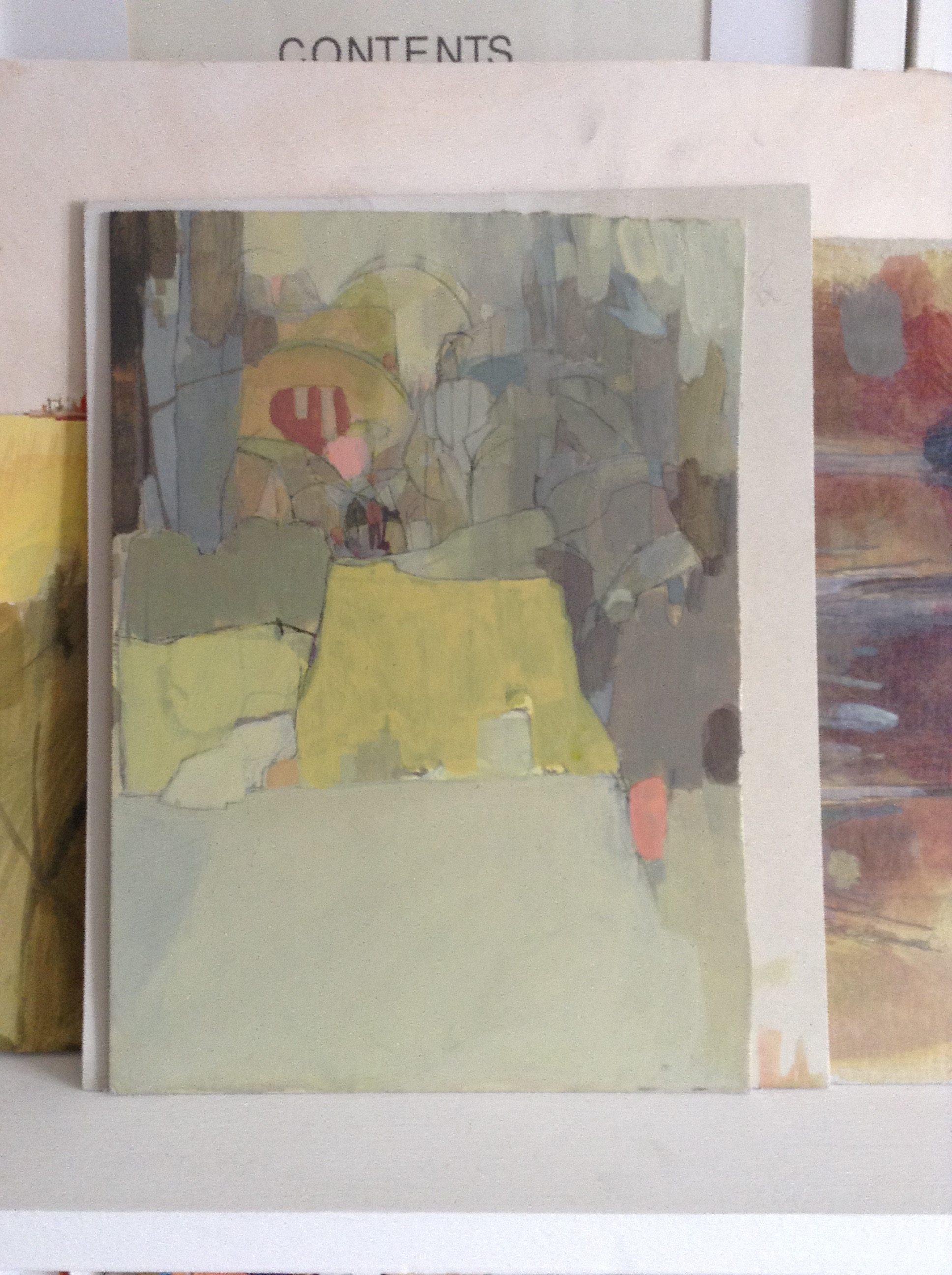 Where I Draw Hannah Coulson - Painting