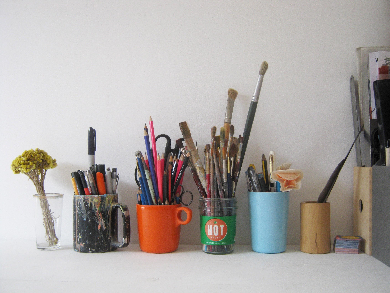 Where I Draw Hannah Coulson - Desk