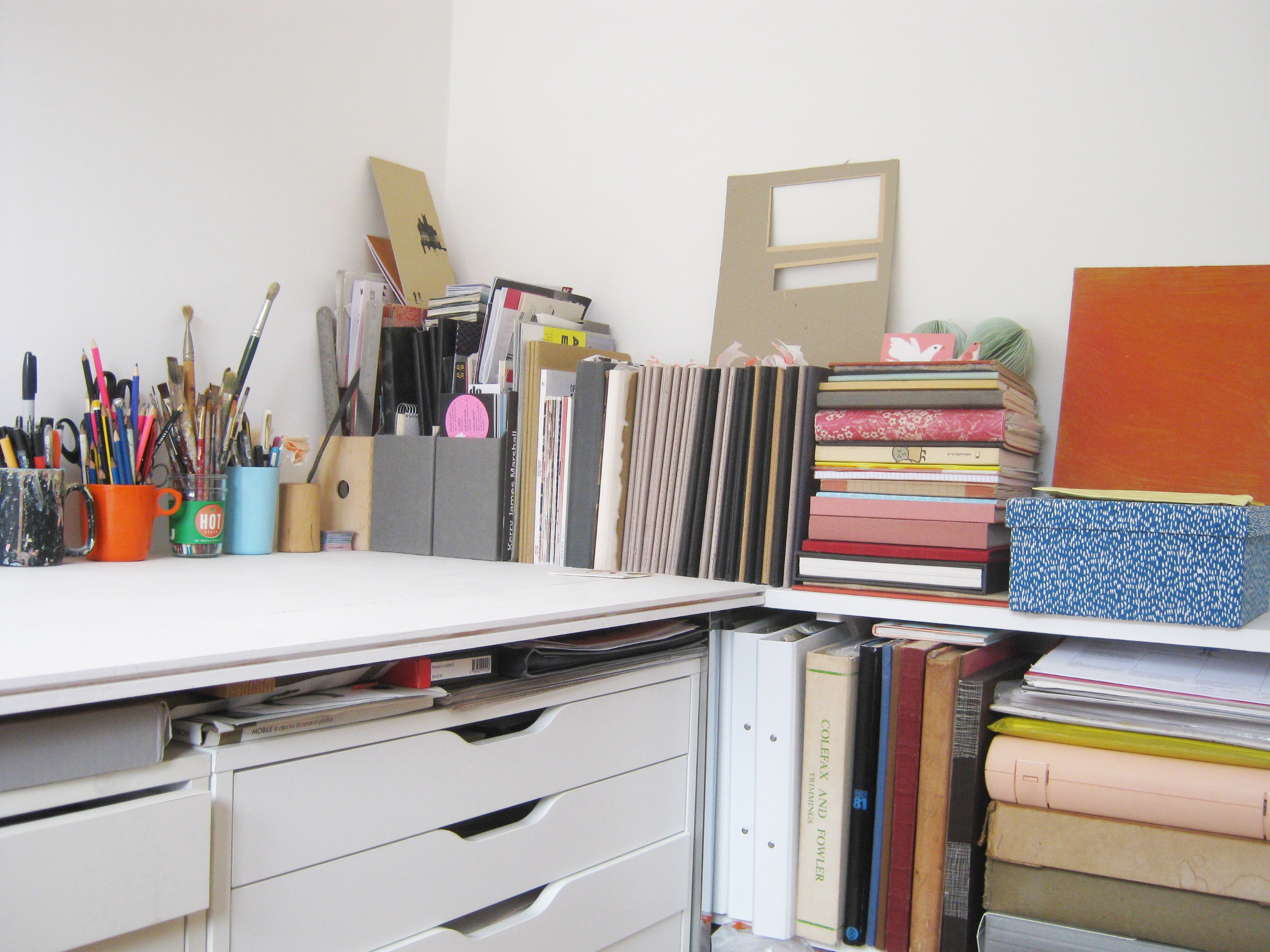 Where I Draw Hannah Coulson - Desk 2