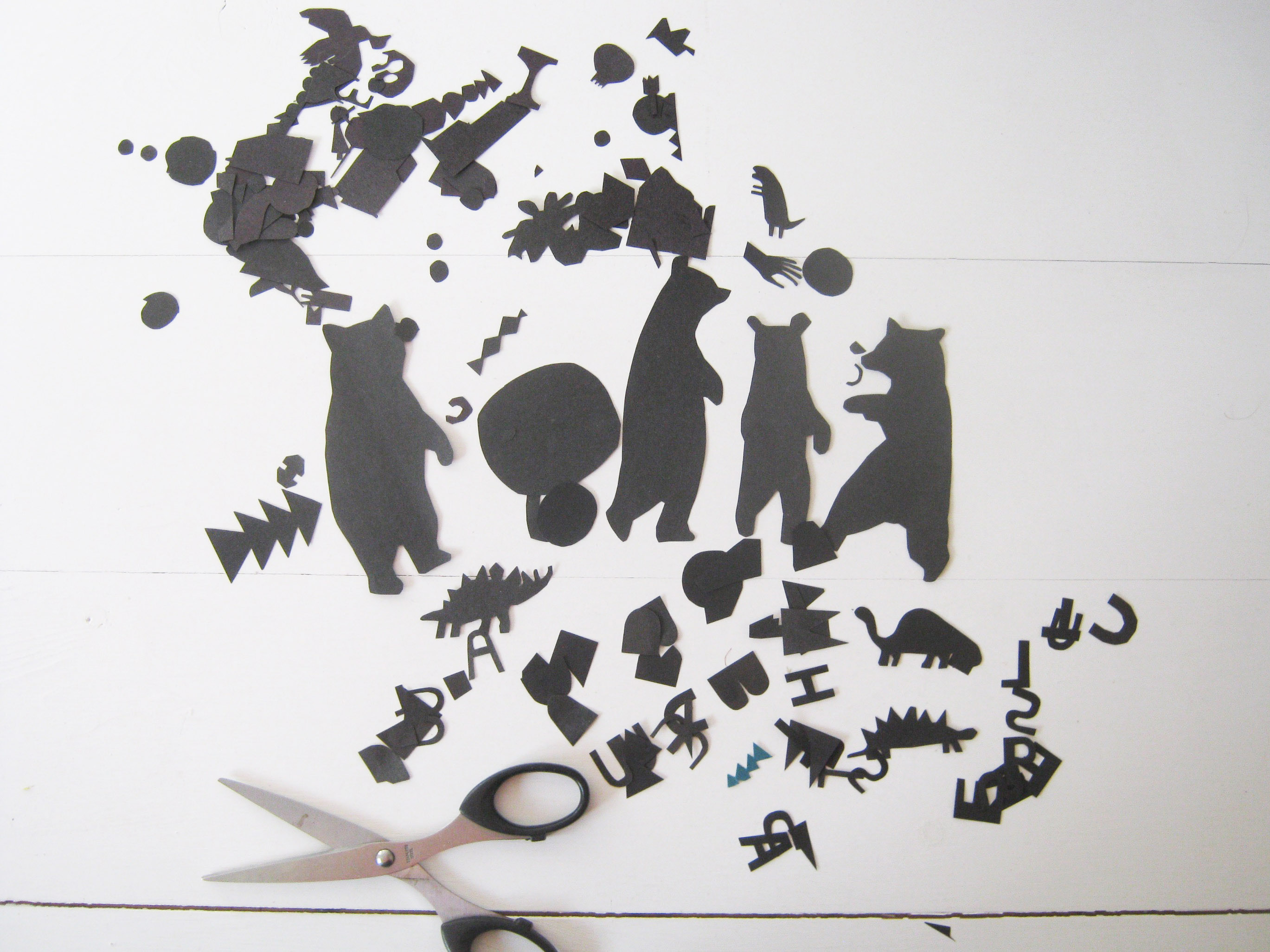 Where I Draw Hannah Coulson - Bear Cutouts