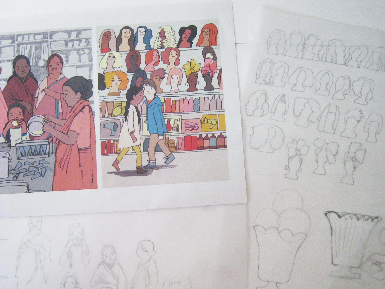 Where I Draw Hannah Coulson - Sketch Books 3