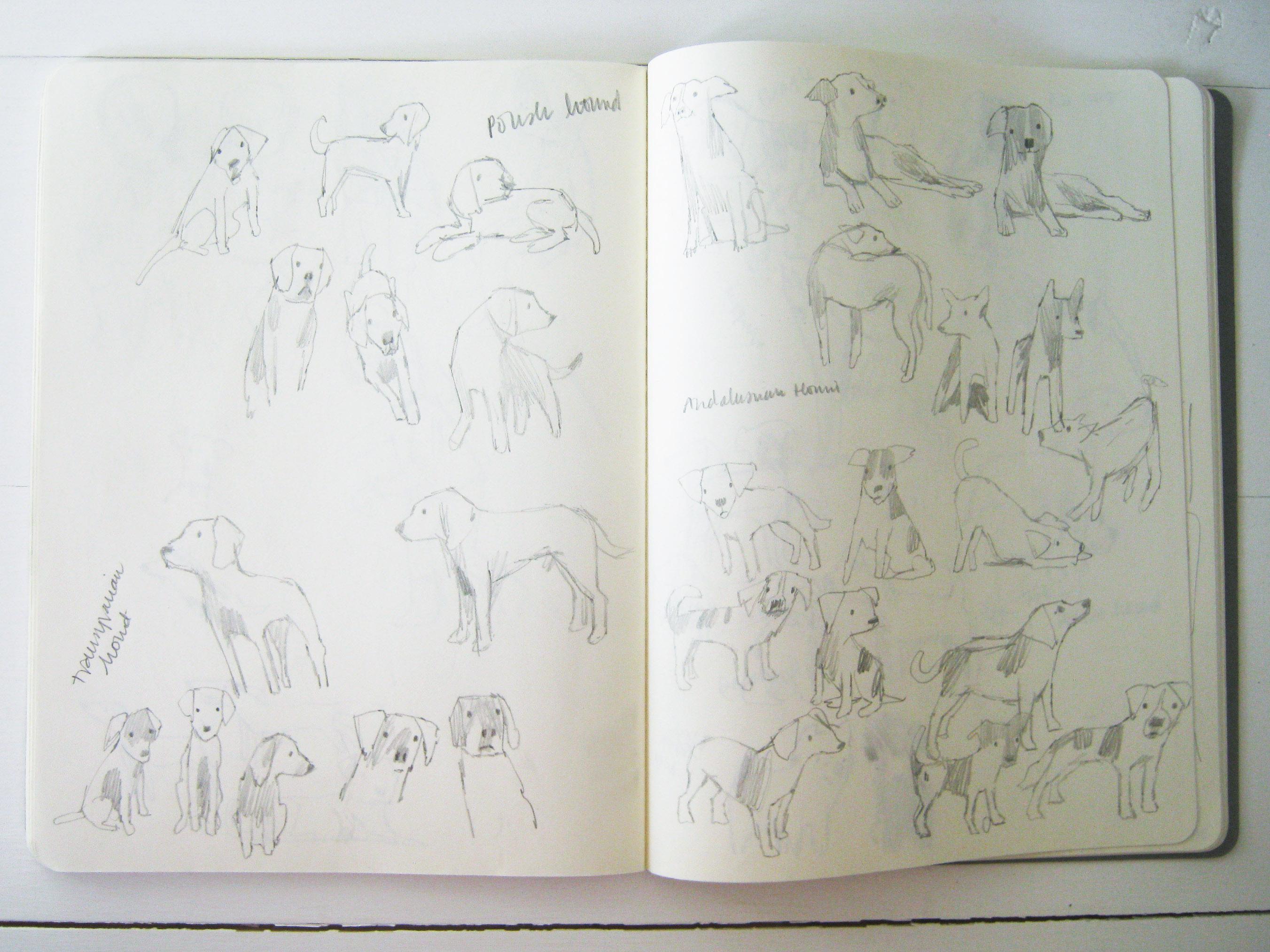 Where I Draw Hannah Coulson - Sketch Books 2