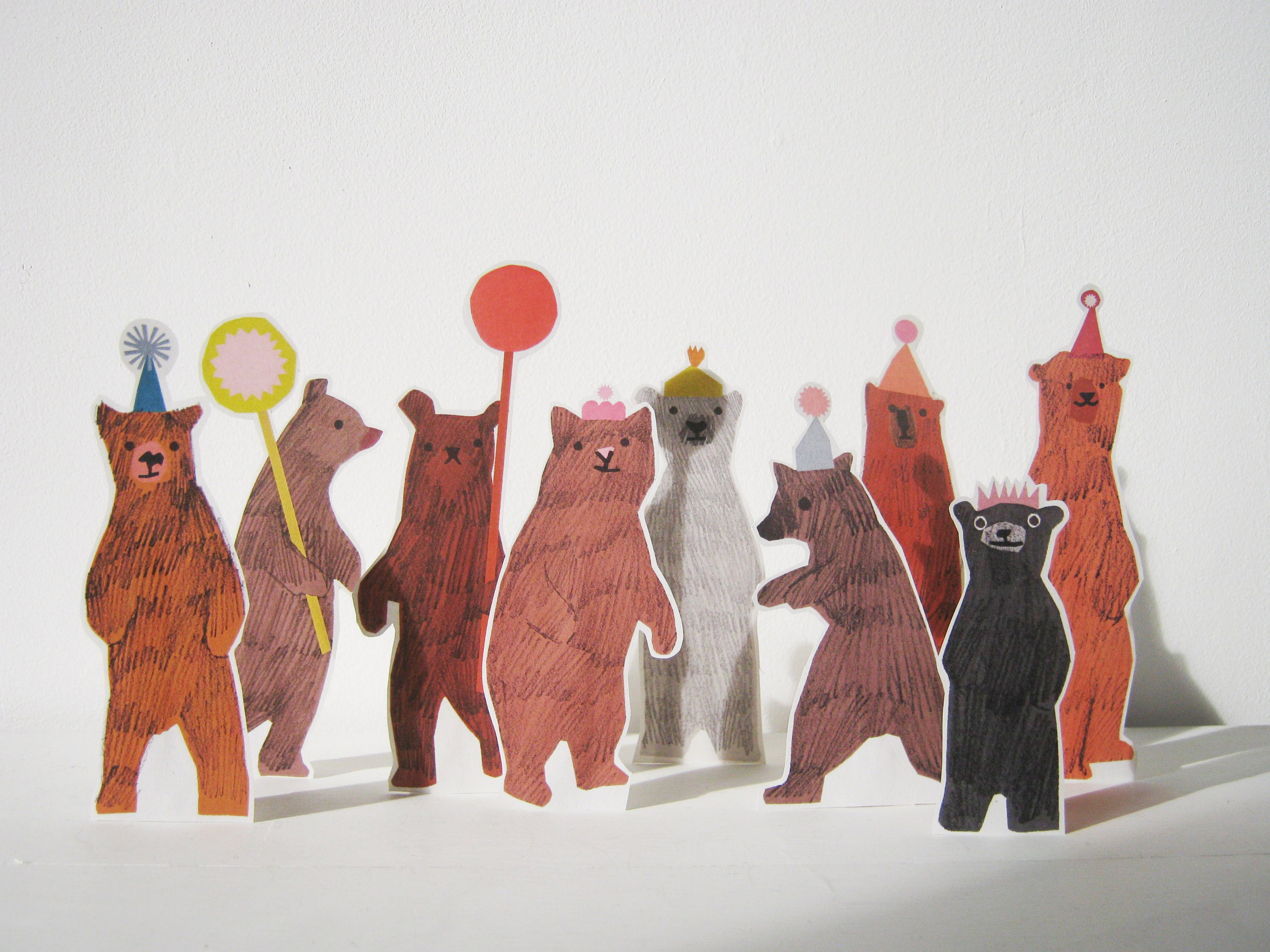Where I Draw Hannah Coulson - Bear Party