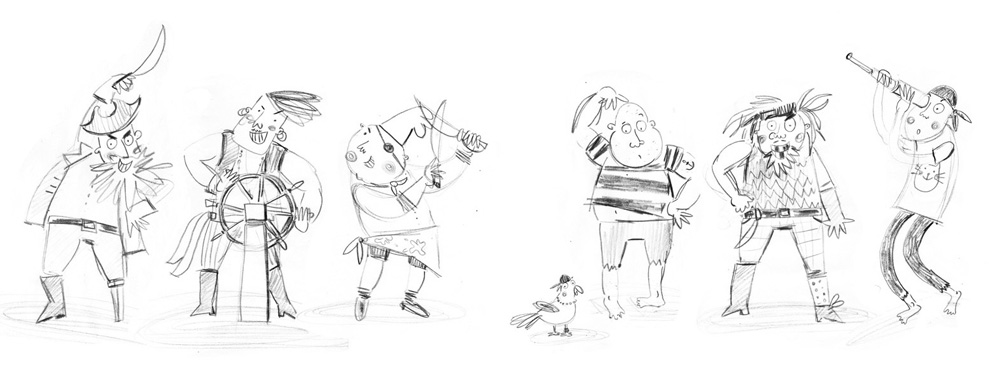 Molly in the Making with Kasia Matyjaszek Sketches 5
