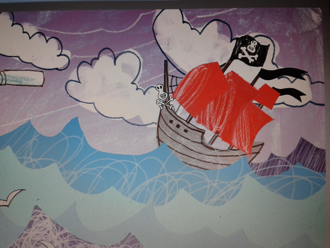 Molly in the Making with Kasia Matyjaszek Pirate Ship