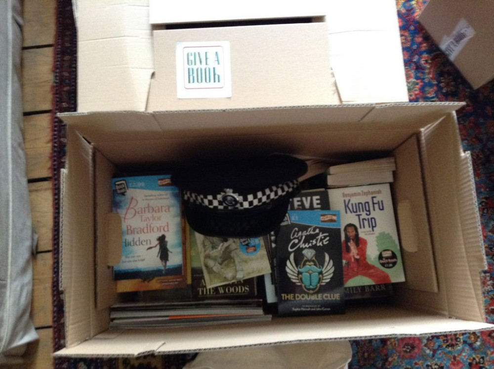 Give A Book - Box of Books!