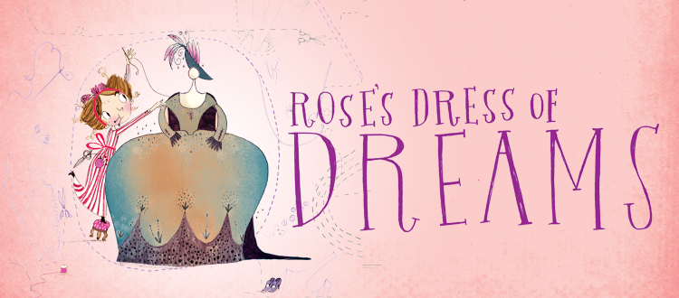 Announcing Rose's Dress of Dreams by Katherine Woodfine – Coming soon!