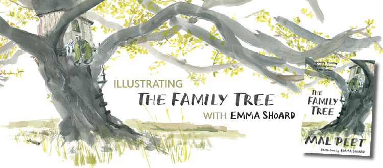 Banner image for the blog 'Illustrating The Family Tree with Emma Shoard'