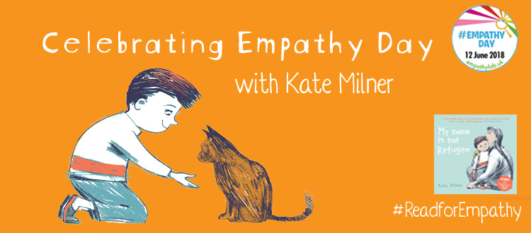 Banner image for the blog: Celebrating Empathy Day with Kate Milner