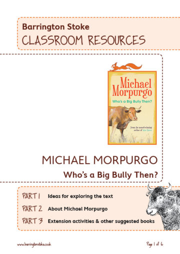 Who's a Big Bully Then? Classroom Resources New
