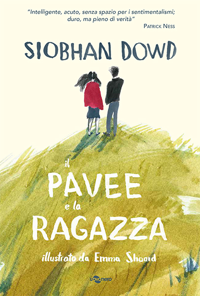 The cover of the Italian edition of The Pavee and the Buffer Girl (il Pavee é la Ragazza)