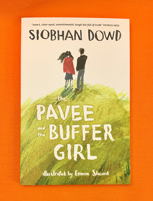 A photograph of The Pavee and the Buffer Girl by Siobhan Dowd