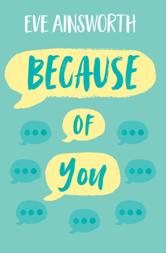 Cover image for Because of You by Eve Ainsworth