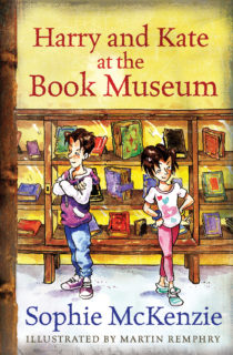 Cover image Harry and Kate at the Book Museum (Acorn Readers)
