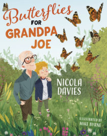 Cover image for Butterflies for Grandpa Joe