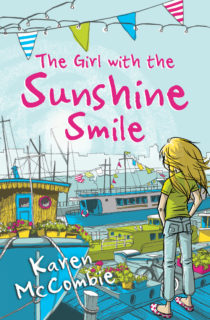 COVER IMAGE The Girl with the Sunshine Smile by Karen McCombie