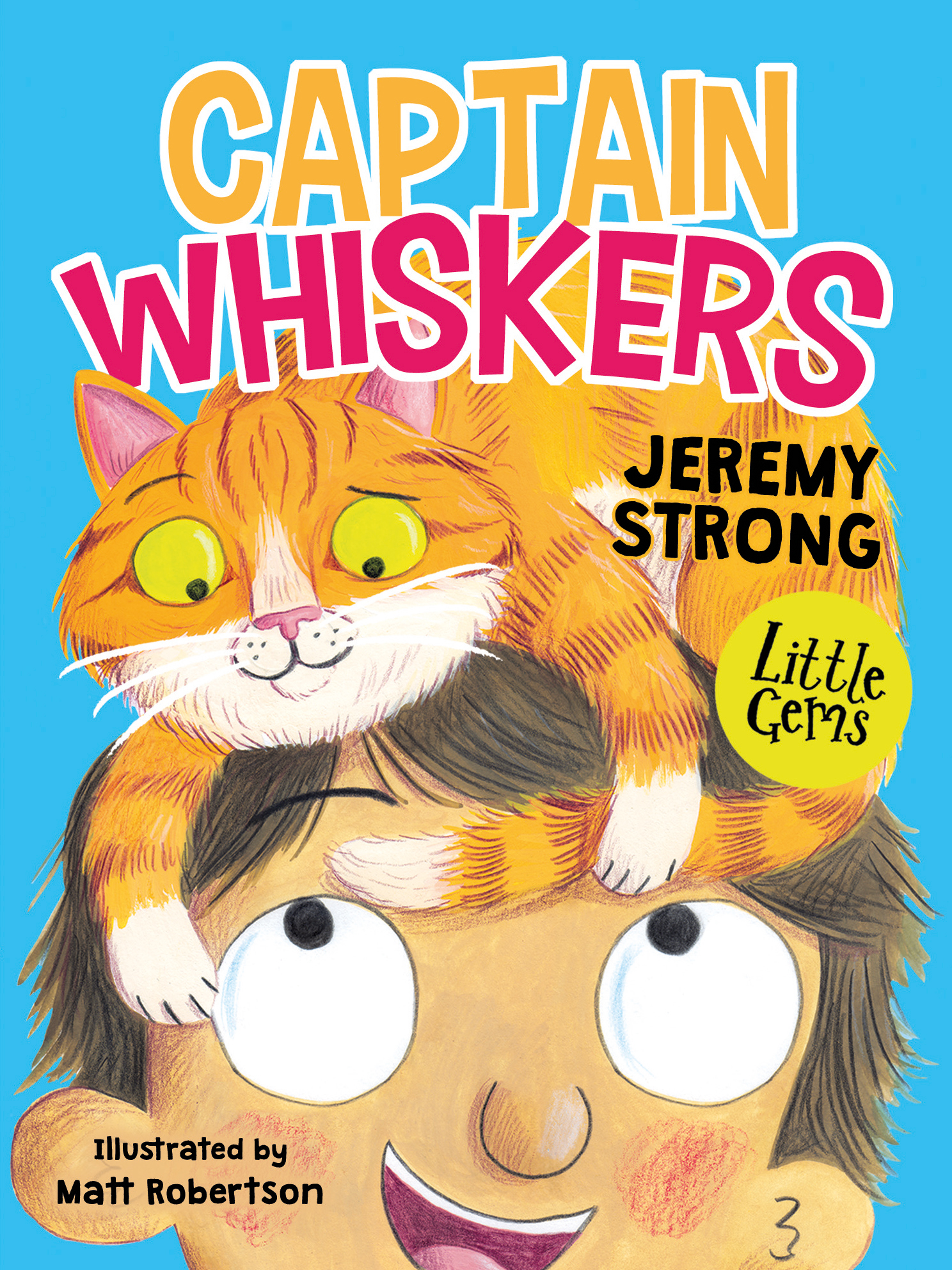 Captain Whiskers by Jeremy Strong - Barrington Stoke